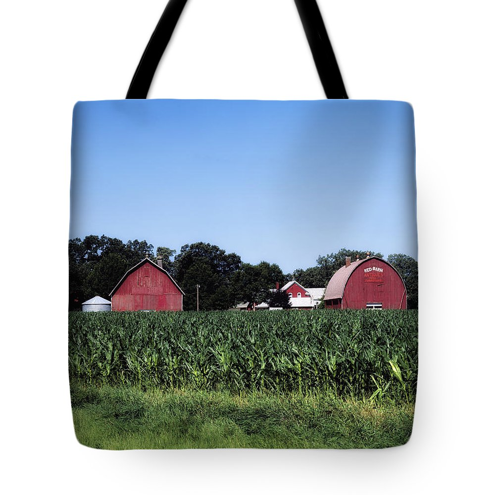 Belle Plaine Tote Bag featuring the photograph On The Farm In Belle Plaine by Mountain Dreams