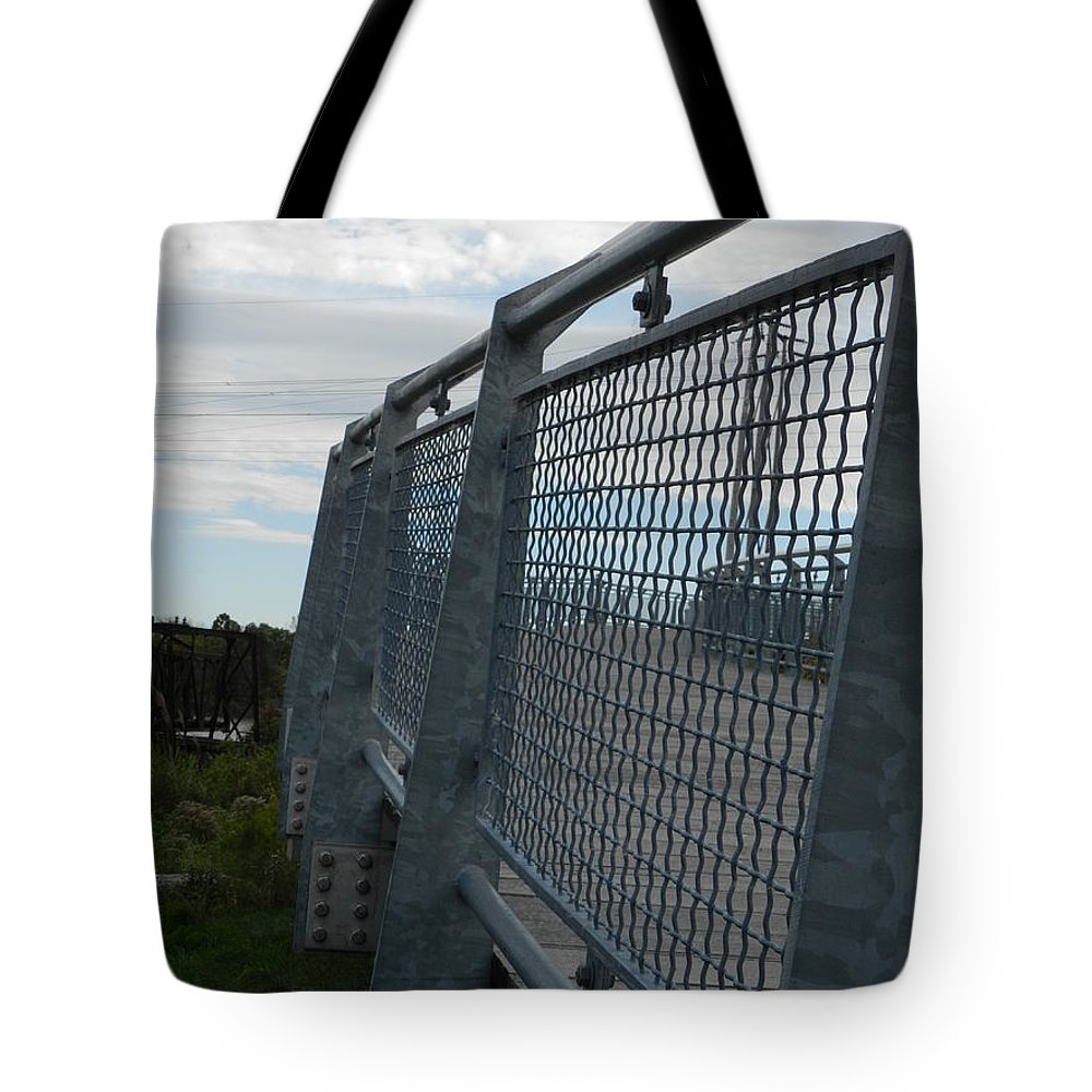 Wilmington Tote Bag featuring the photograph On The Riverfront 1 by Heather Jane
