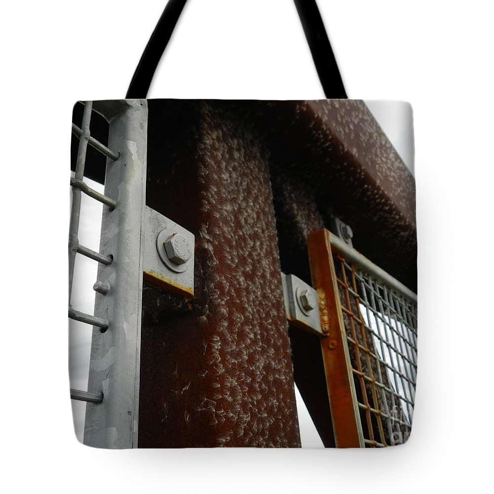 Wilmington Tote Bag featuring the photograph On The Riverfront 4 by Heather Jane