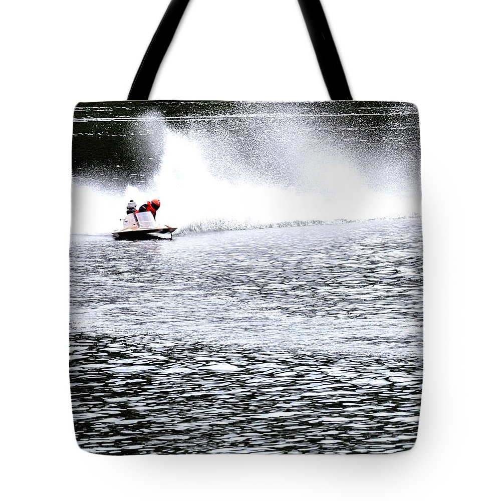 Rogers Tote Bag featuring the photograph One In Turn Two 24418 by Jerry Sodorff
