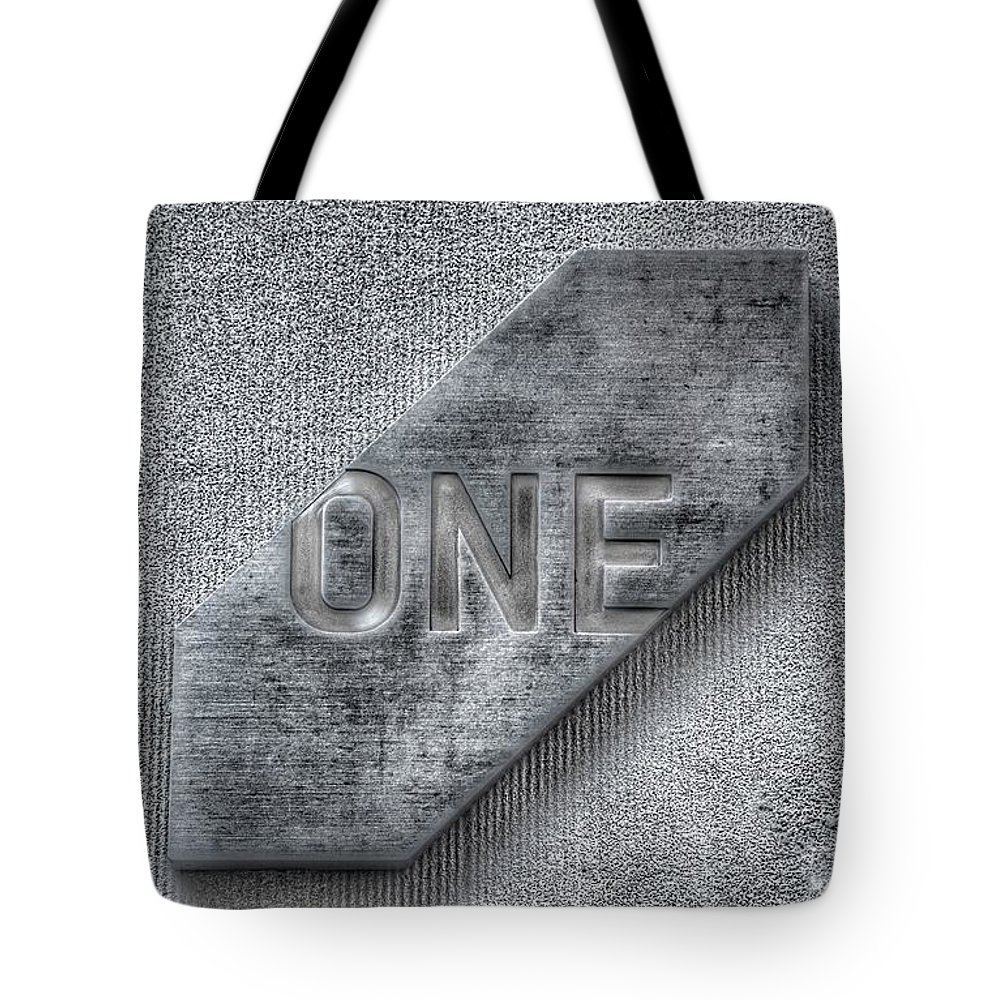 One Tote Bag featuring the photograph One by Marianna Mills