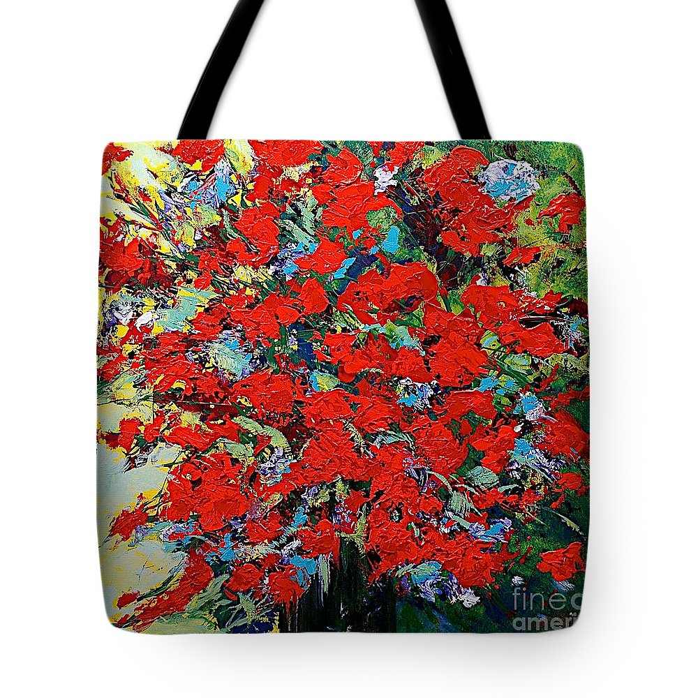 Landscape Tote Bag featuring the painting One Of A Kind by Allan P Friedlander