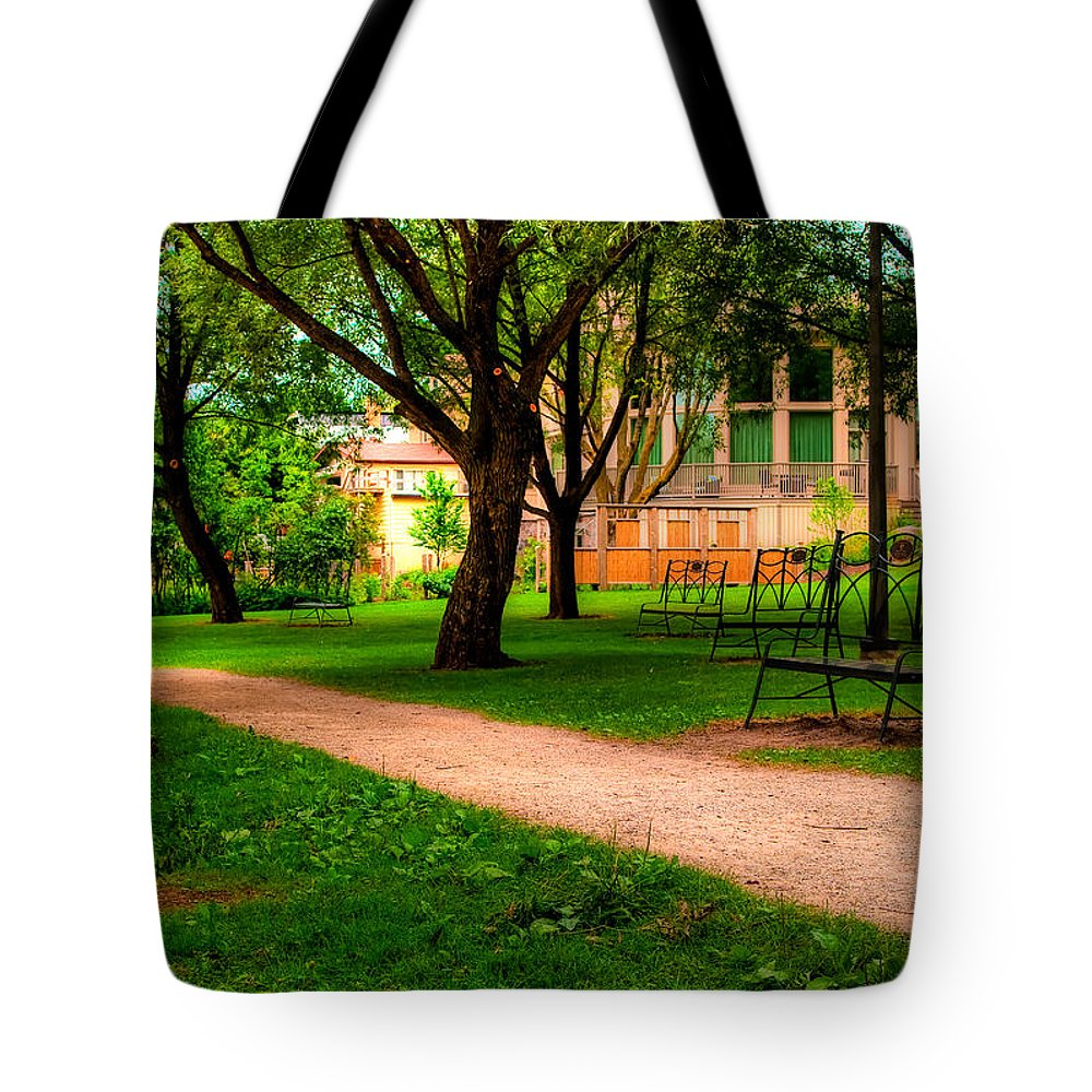 Blue Tote Bag featuring the photograph Ontario by Joseph Amaral