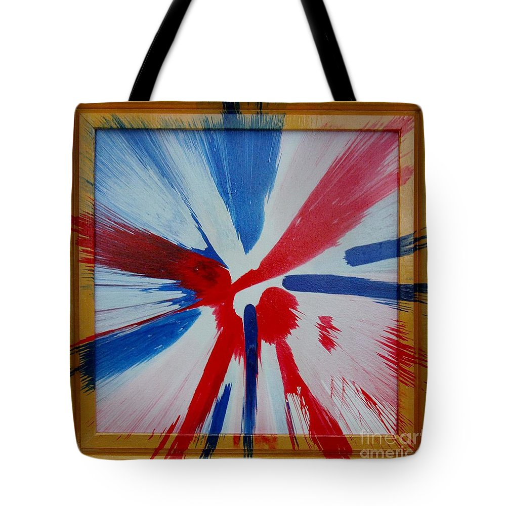 Oops Tote Bag featuring the painting Oops by Gary Hogben