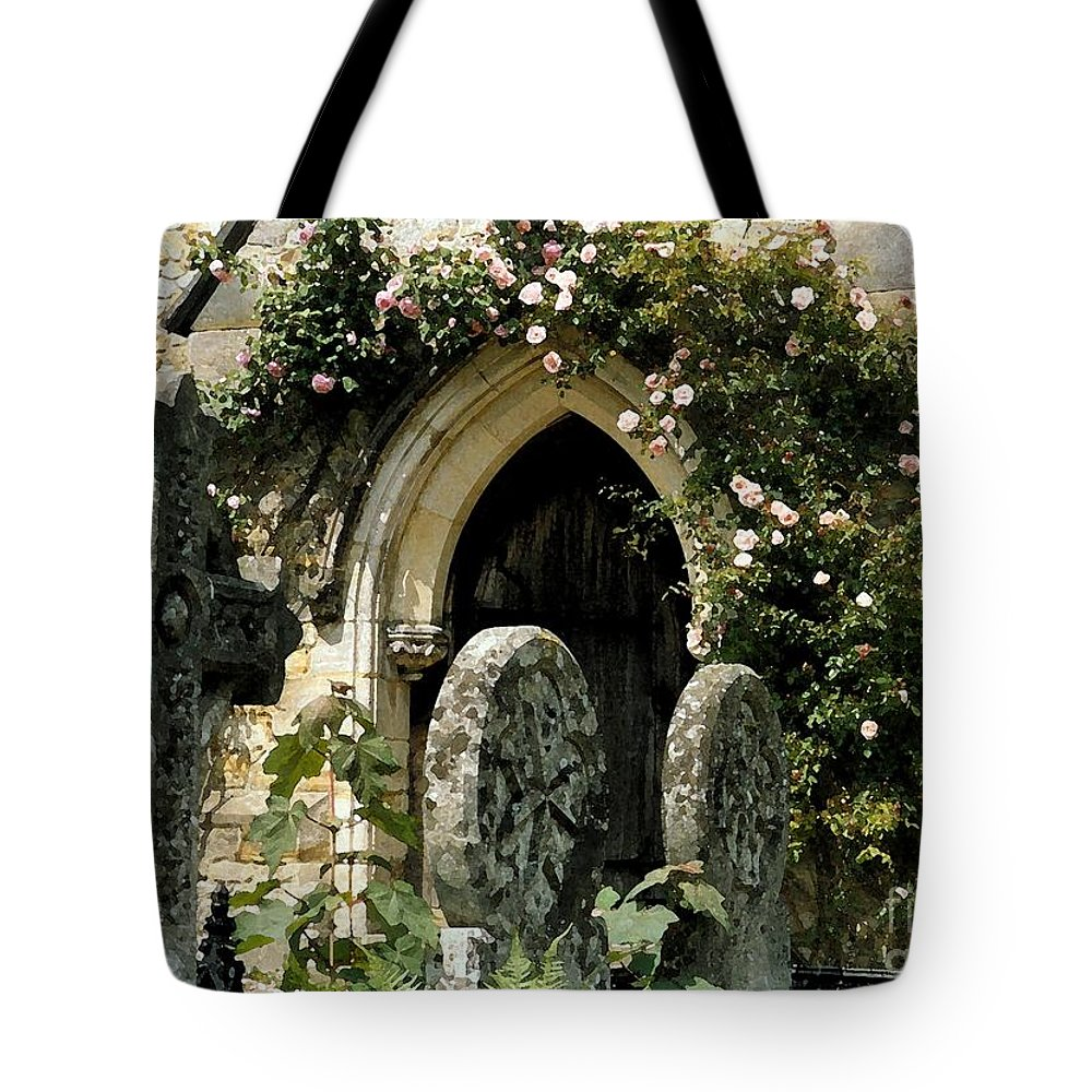 Door Tote Bag featuring the photograph Open Paths II by Christine Jepsen