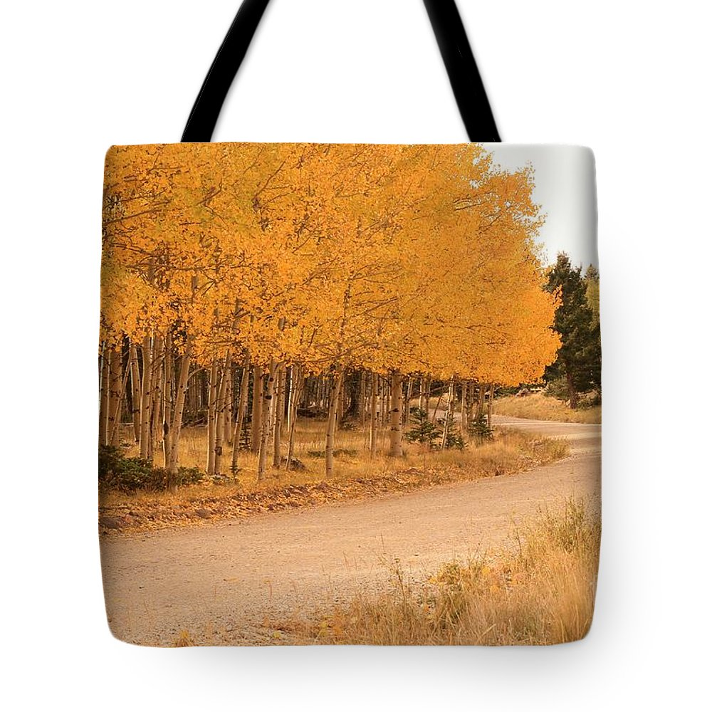 Ashley Mann Tote Bag featuring the photograph Open Road 5 by Ashley M Conger