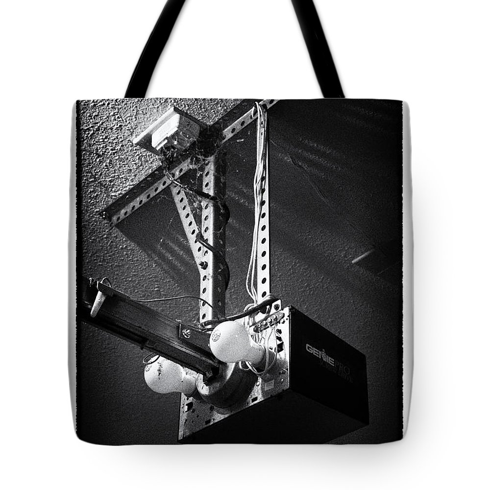 Grunge Tote Bag featuring the photograph Open Up - Art Unexpected by Tom Mc Nemar