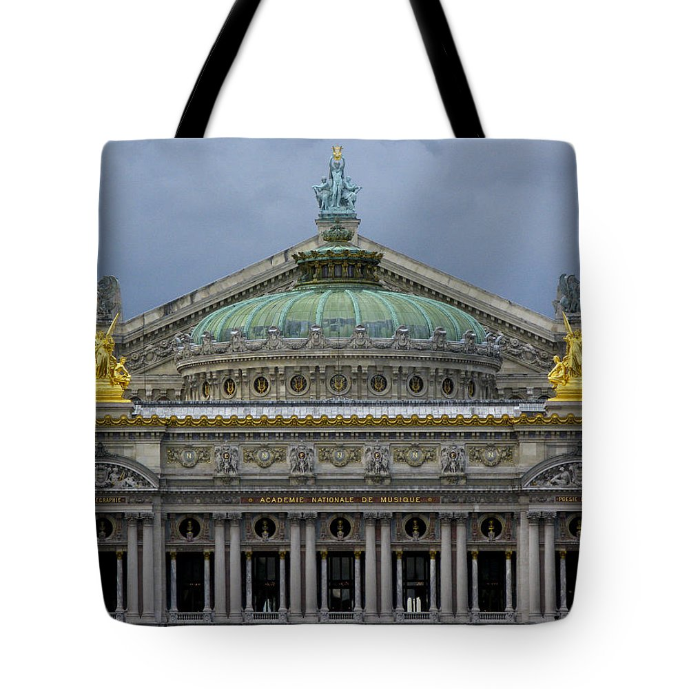 Opera Garnier Tote Bag featuring the photograph Opera Garnier by Douglas J Fisher