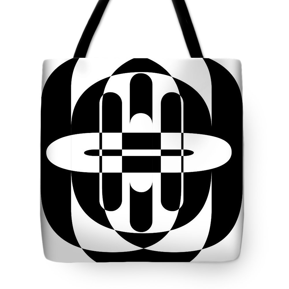 Design Tote Bag featuring the photograph Opt Art 6 by Edward Fielding