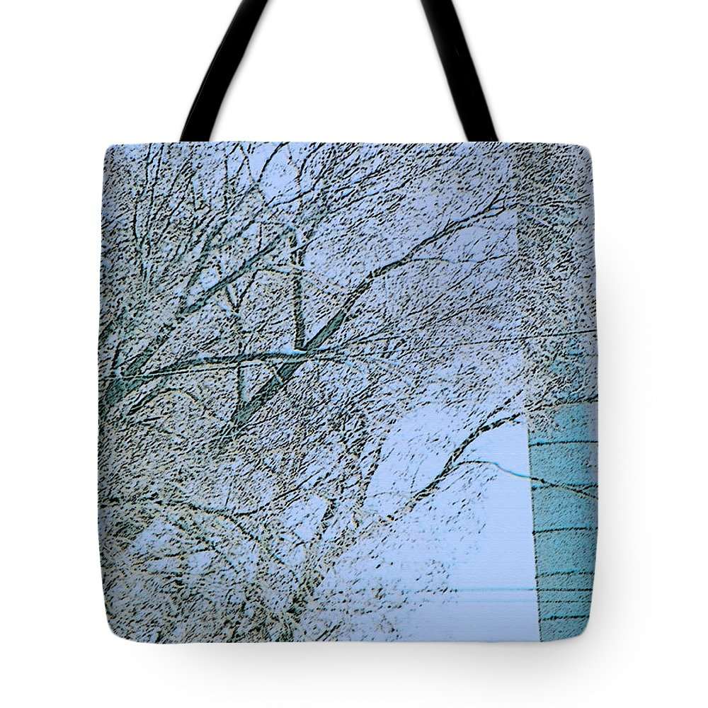 Expressive Tote Bag featuring the photograph Optical Dissonance by Lenore Senior