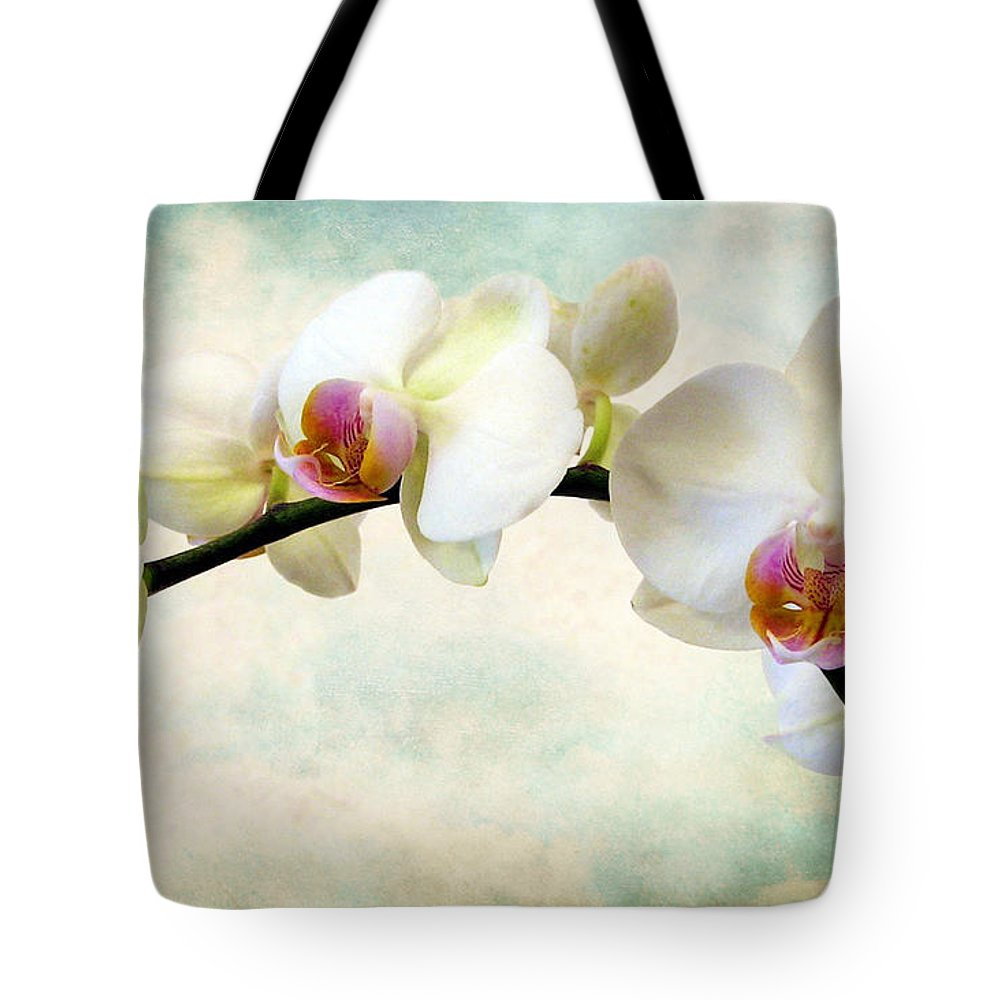 Flowers Tote Bag featuring the photograph Orchid Heaven by Jessica Jenney