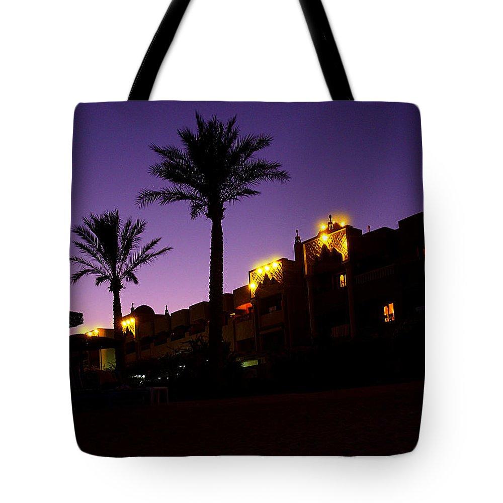 Oriental Night Tote Bag featuring the photograph Oriental Night by Irina Effa