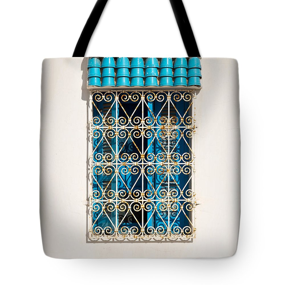 Window Tote Bag featuring the photograph Oriental Window by Delphimages Photo Creations