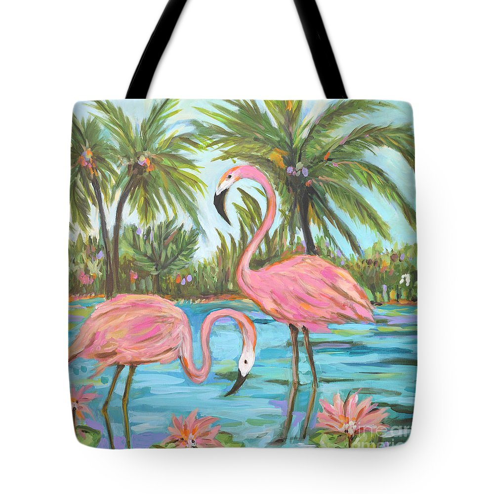 Baggage Covers Pixel Art Flamingo Pattern Light Blue Washable Protective Case
