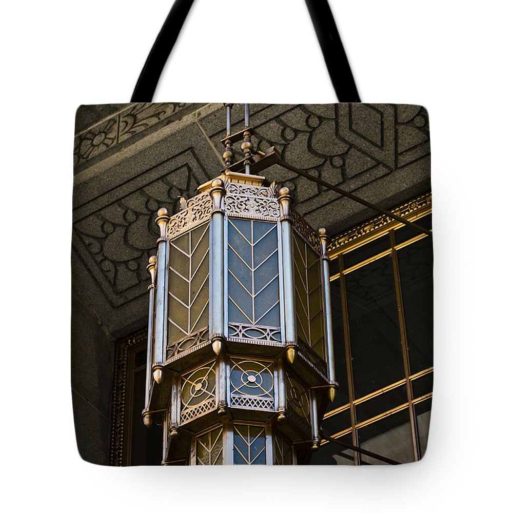 Antique Tote Bag featuring the photograph Ornately Golden by Christi Kraft