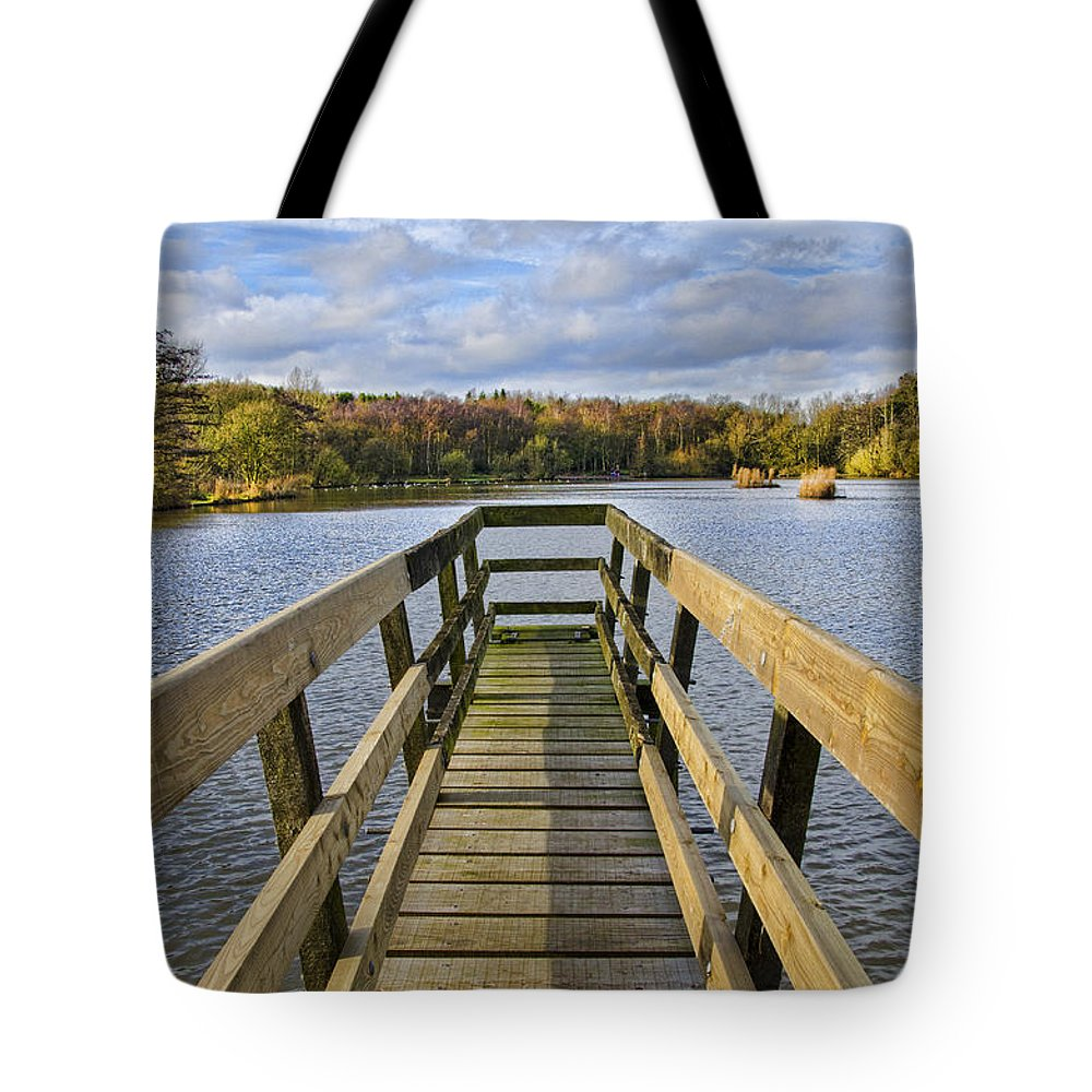 Osborne's Pond Tote Bag featuring the photograph Osborne's Pond by Steev Stamford