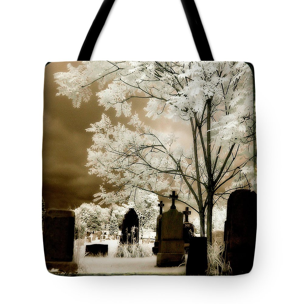 Infrared Tote Bag featuring the photograph Other Light by Gothicrow Images