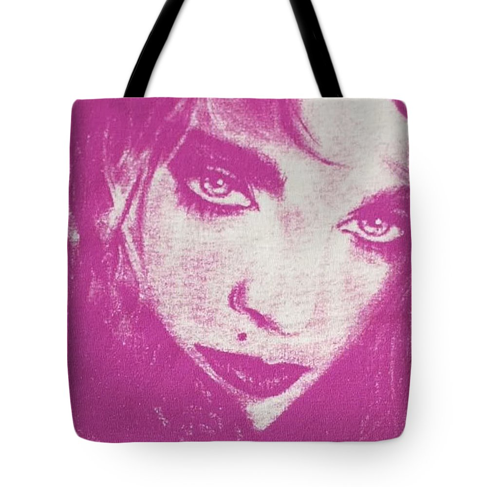 Madonna Tote Bag featuring the drawing Our Lady Of Malawi by Ayka Yasis