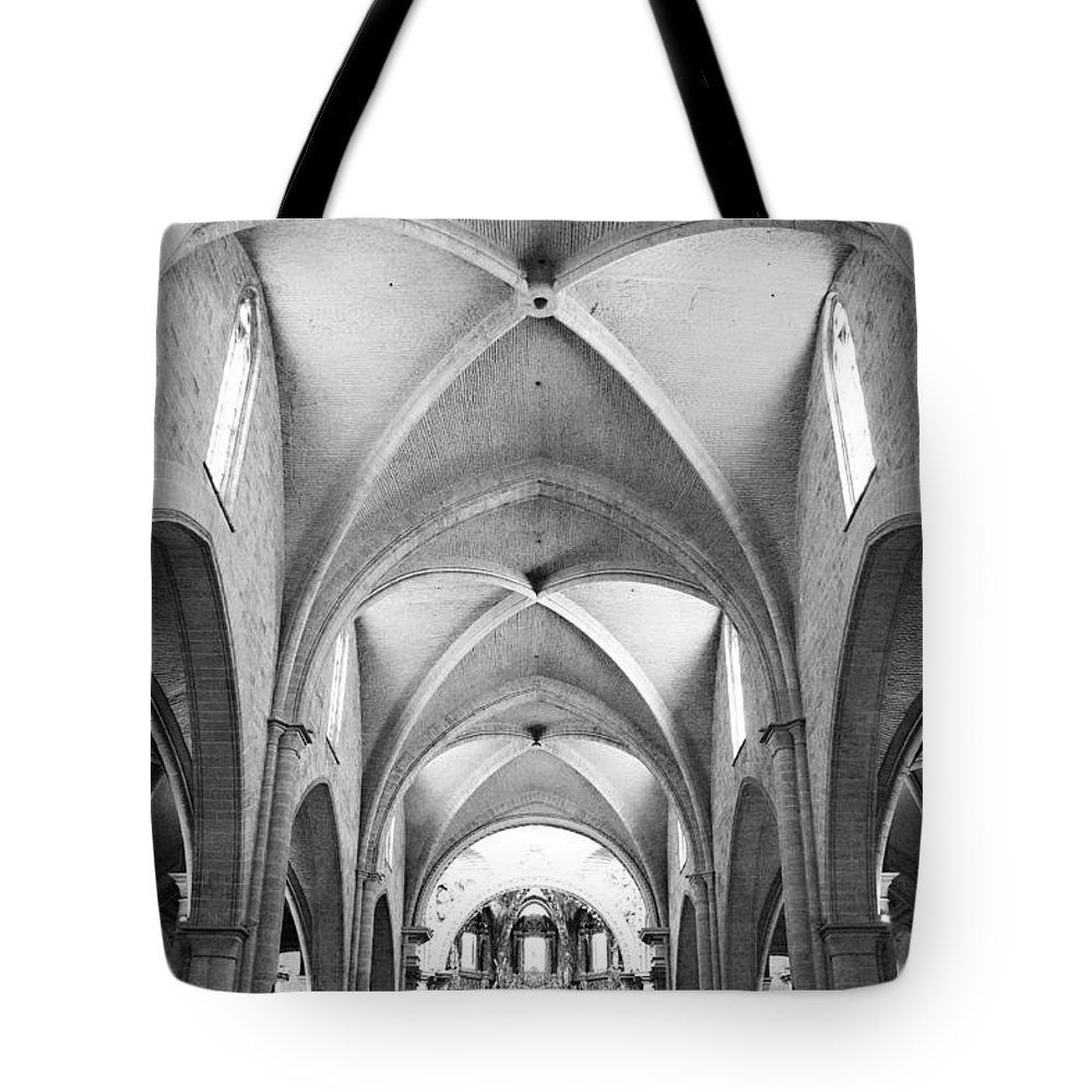 Cathedral Tote Bag featuring the photograph Our Lady Of Valencia by Jamie Fedele