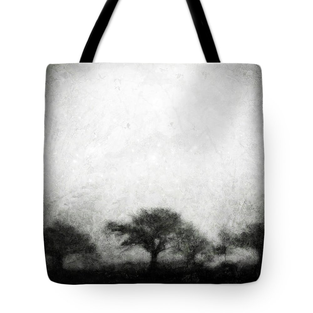 Brett Tote Bag featuring the digital art Our Moment In Patience by Brett Pfister