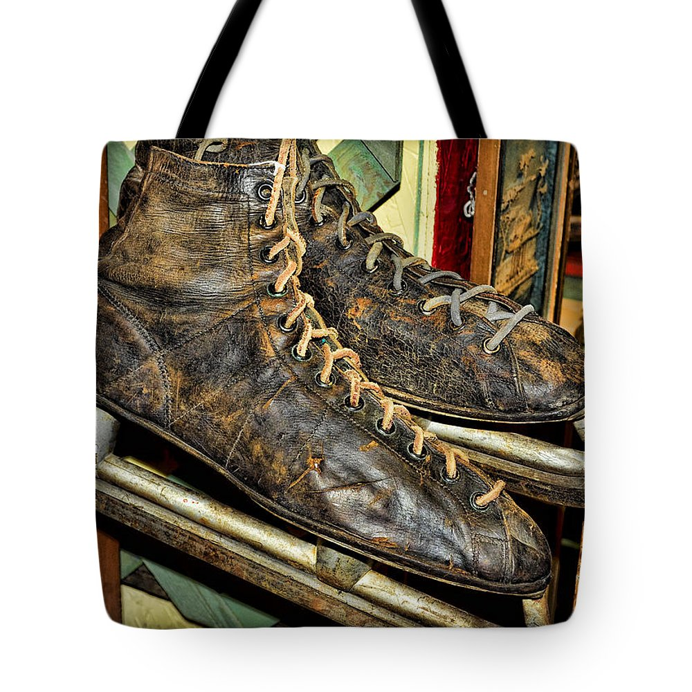 Skate Tote Bag featuring the photograph Out Of Ice by Fran Riley