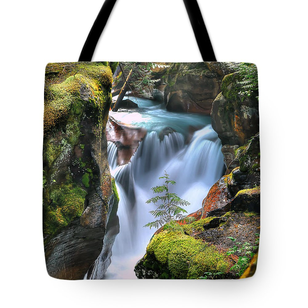 Gorge Tote Bags