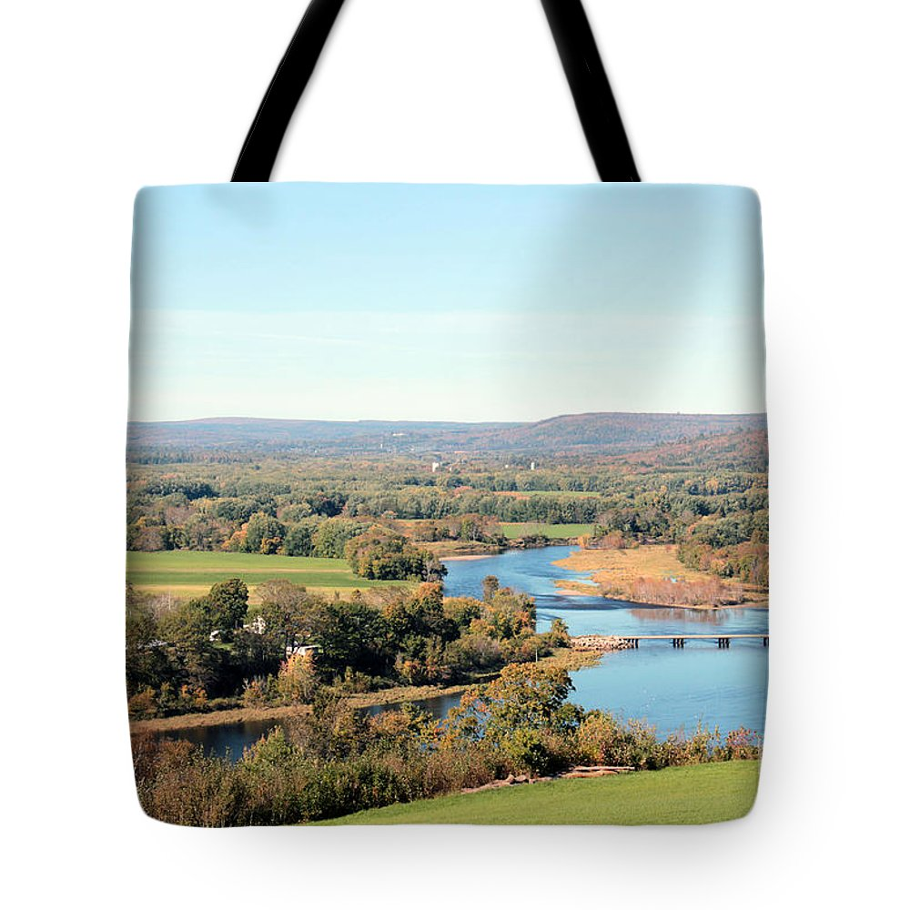 Fredericton Tote Bag featuring the photograph Outside City Limits by Tabitha Godin