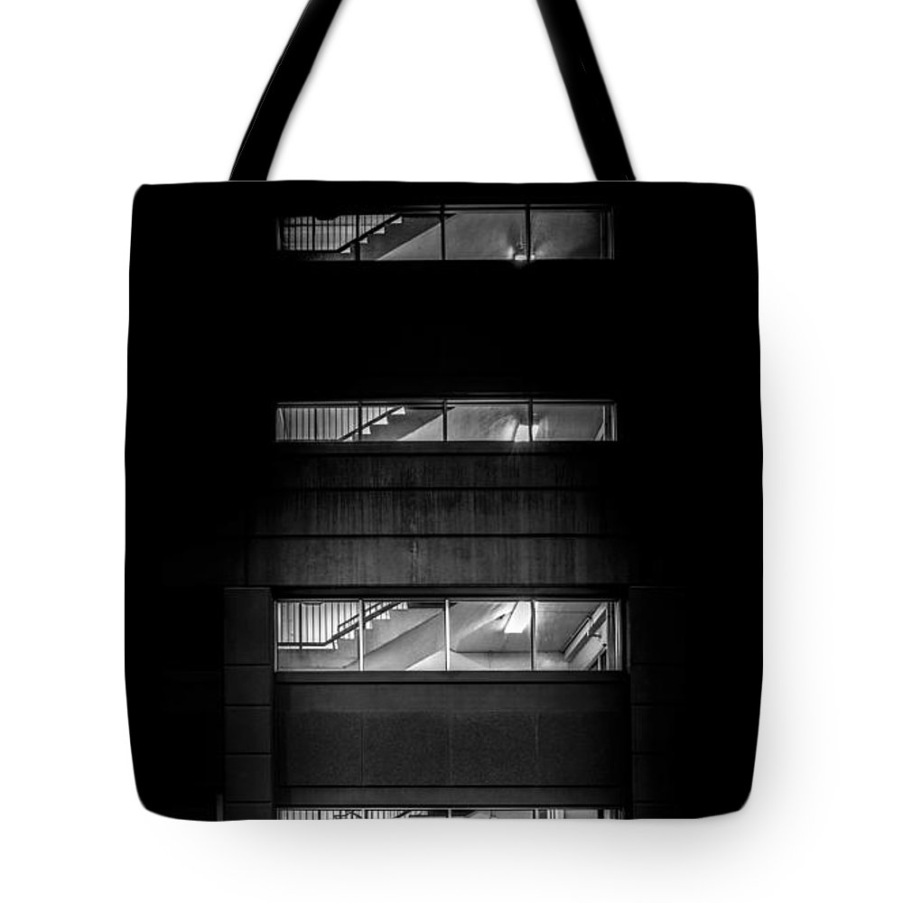 Night Tote Bag featuring the photograph Outside Looking In by Bob Orsillo