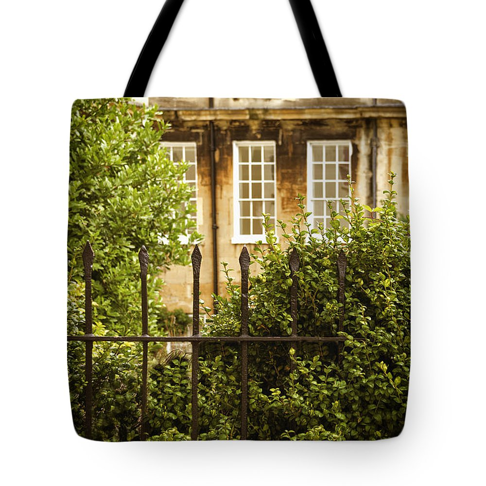 House Tote Bag featuring the photograph Outside Looking In by Margie Hurwich