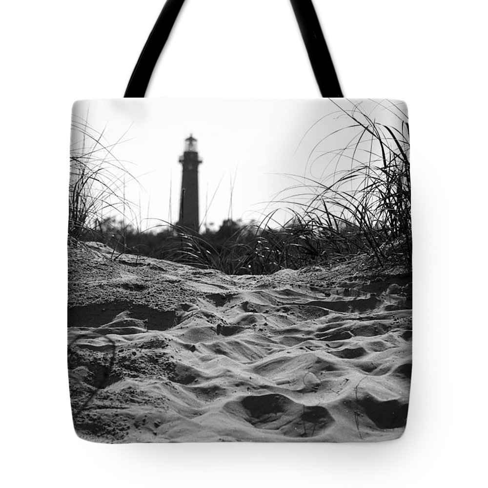 Lighthouse Tote Bag featuring the photograph Over The Dune by IMH Photog