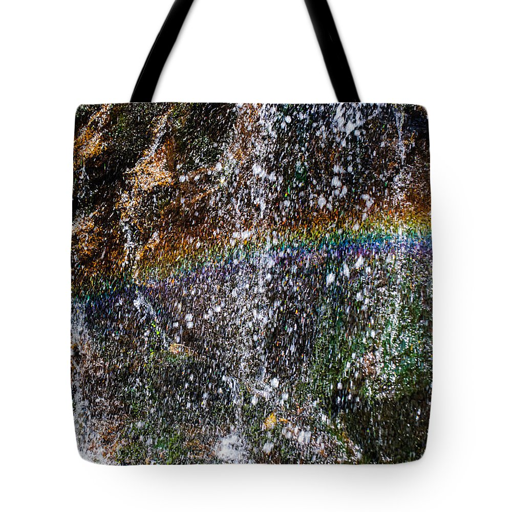 Christine Falls Tote Bag featuring the photograph Over The Rainbow by Tikvah's Hope