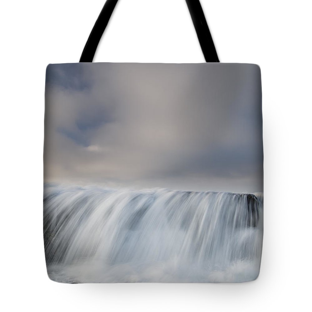 Humboldt Bay Tote Bag featuring the photograph Overflow by Greg Nyquist