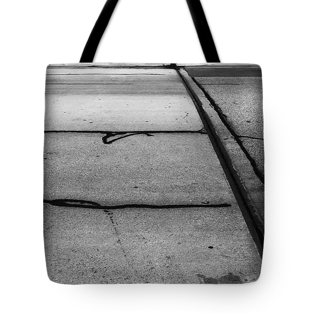 Landscape Tote Bag featuring the photograph Overflowed Sinlence by Fei A