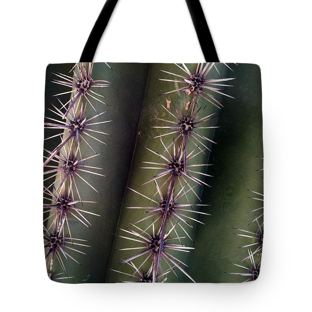 Cacti Tote Bag featuring the photograph Owie 12 by Marlene Burns