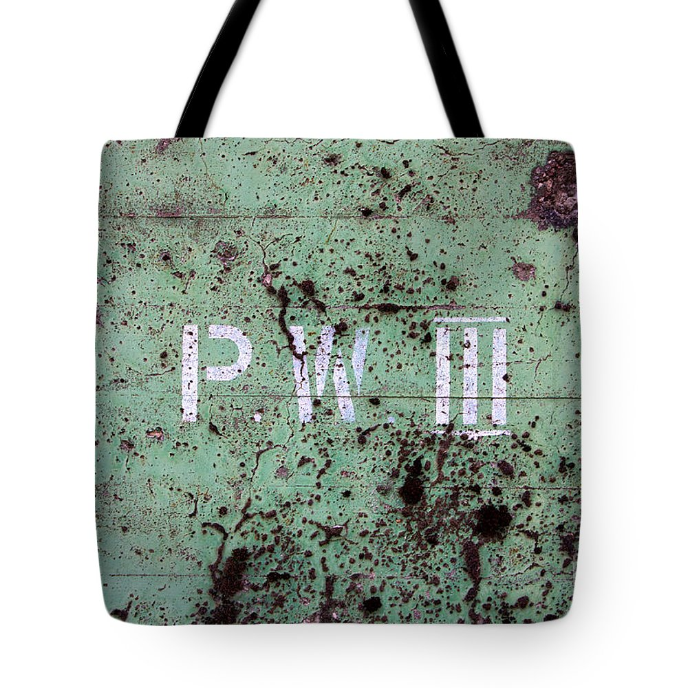 Art Tote Bag featuring the photograph P W by Jannis Werner