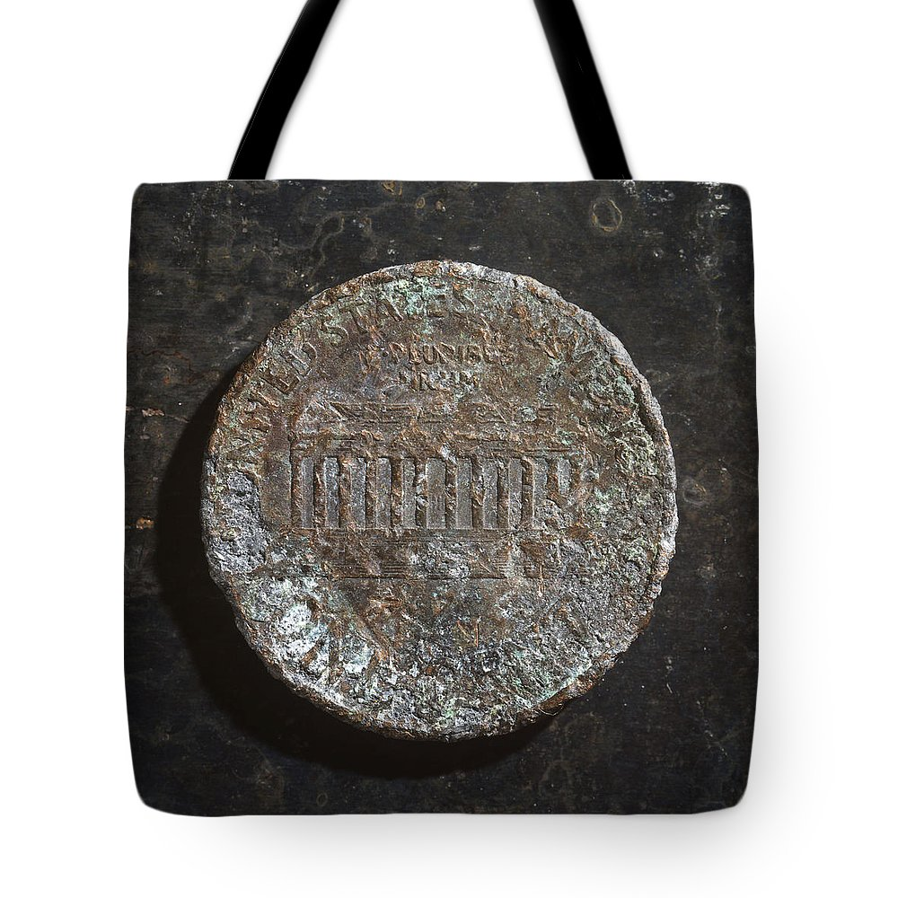 Americana Tote Bag featuring the photograph P19xx D T by Robert Mollett