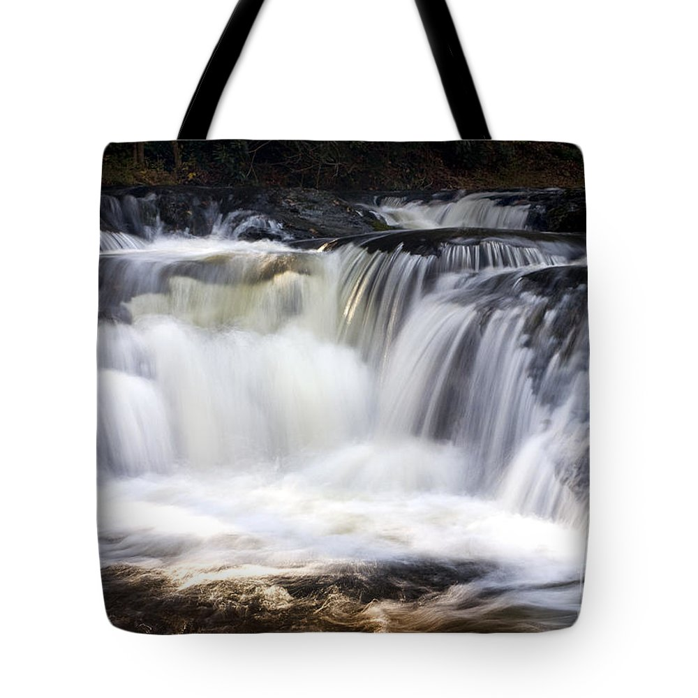 Waterfalls Tote Bag featuring the photograph Pa. Waterfalls by Paul W Faust - Impressions of Light