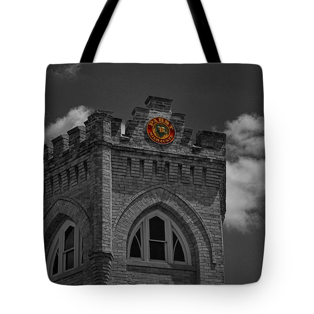 2010 Tote Bag featuring the photograph Pabst Brewing - 3 by Tommy Anderson