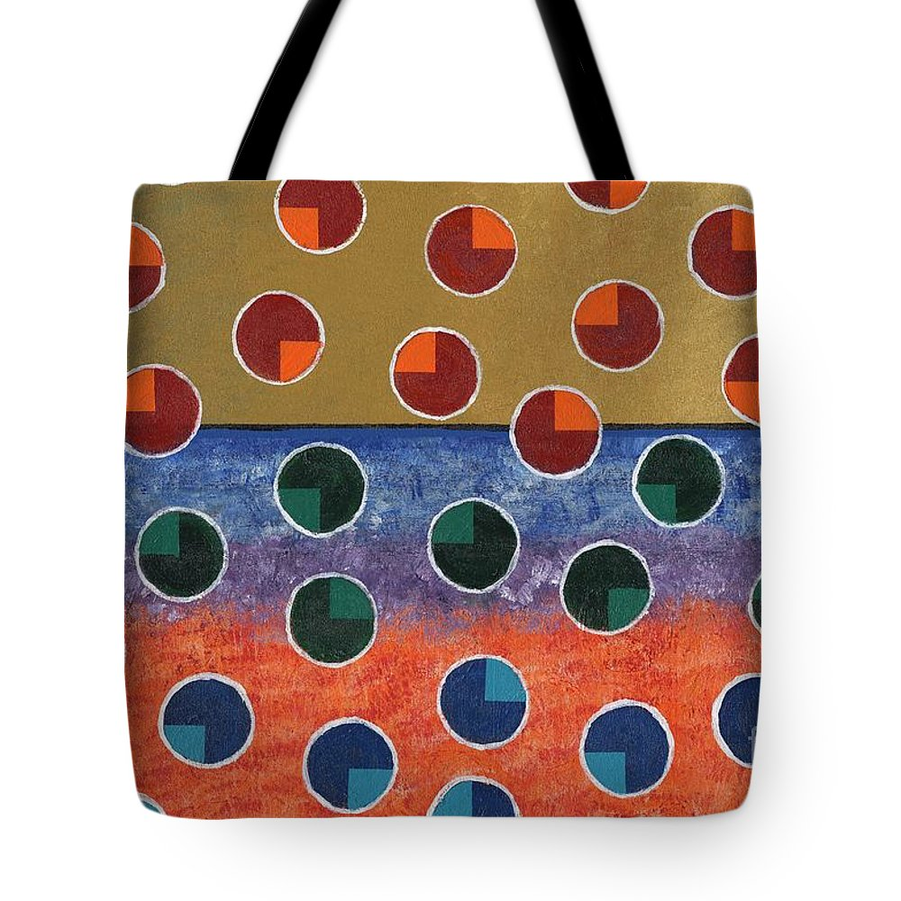 Pacman Tote Bag featuring the painting Pacman Zombies Awaking At Sun-rise by Jeremy Aiyadurai