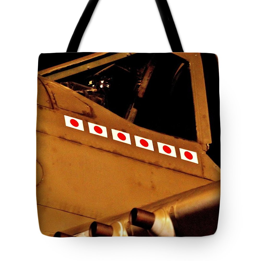 World War 2 Tote Bag featuring the photograph Pacific Ace by Benjamin Yeager
