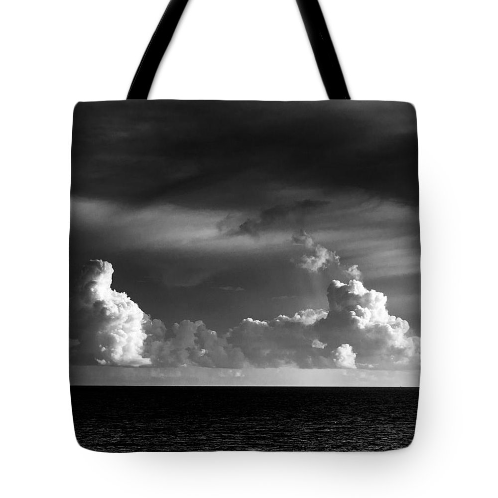 Clouds Tote Bag featuring the photograph Pacific Clouds by Alex Snay
