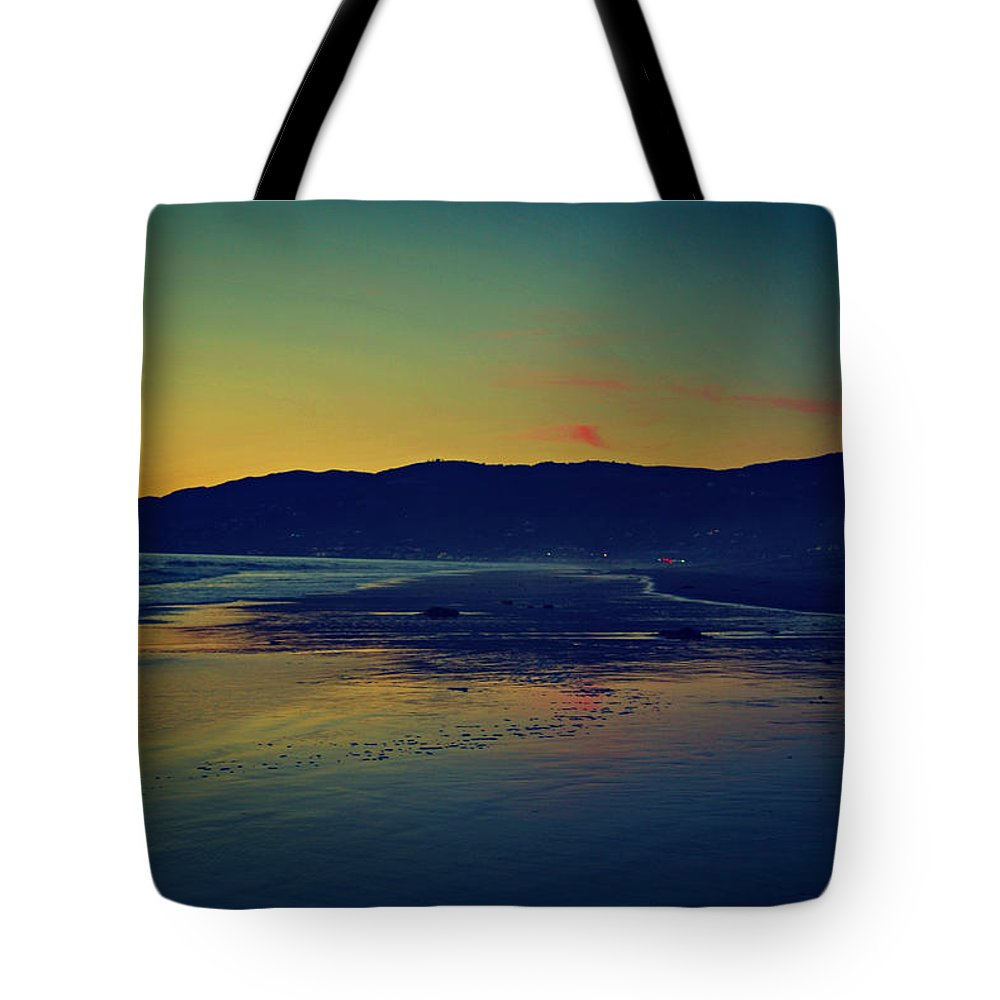 Malibu Tote Bag featuring the photograph Pacific Coast Highway by Dana Bell