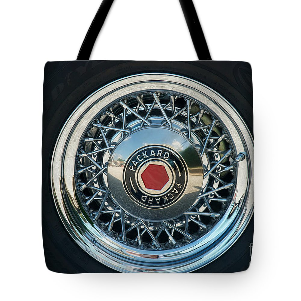 115 Tote Bag featuring the photograph Packard by Mark Dodd