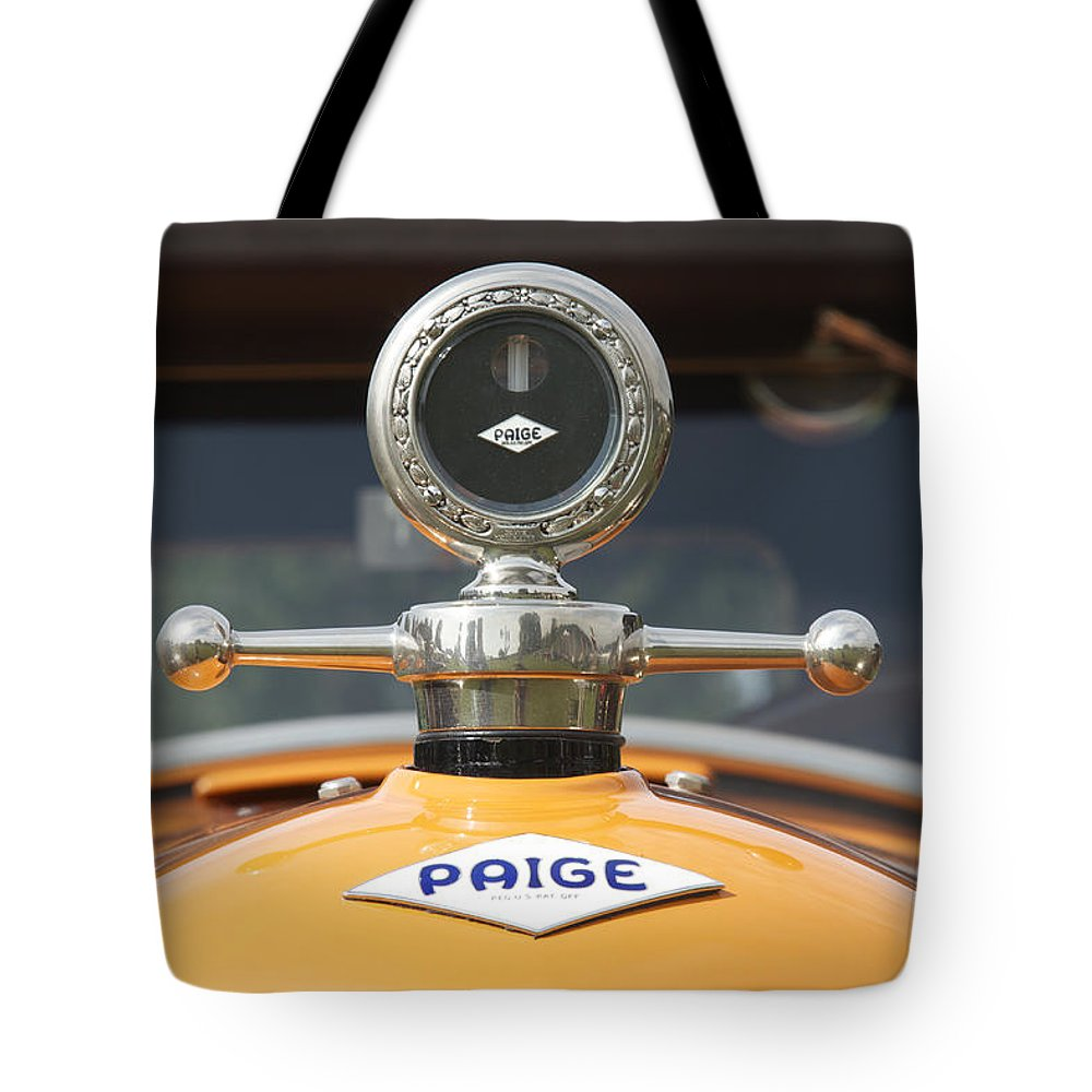 Glenmoor Tote Bag featuring the photograph Paige by Jack R Perry