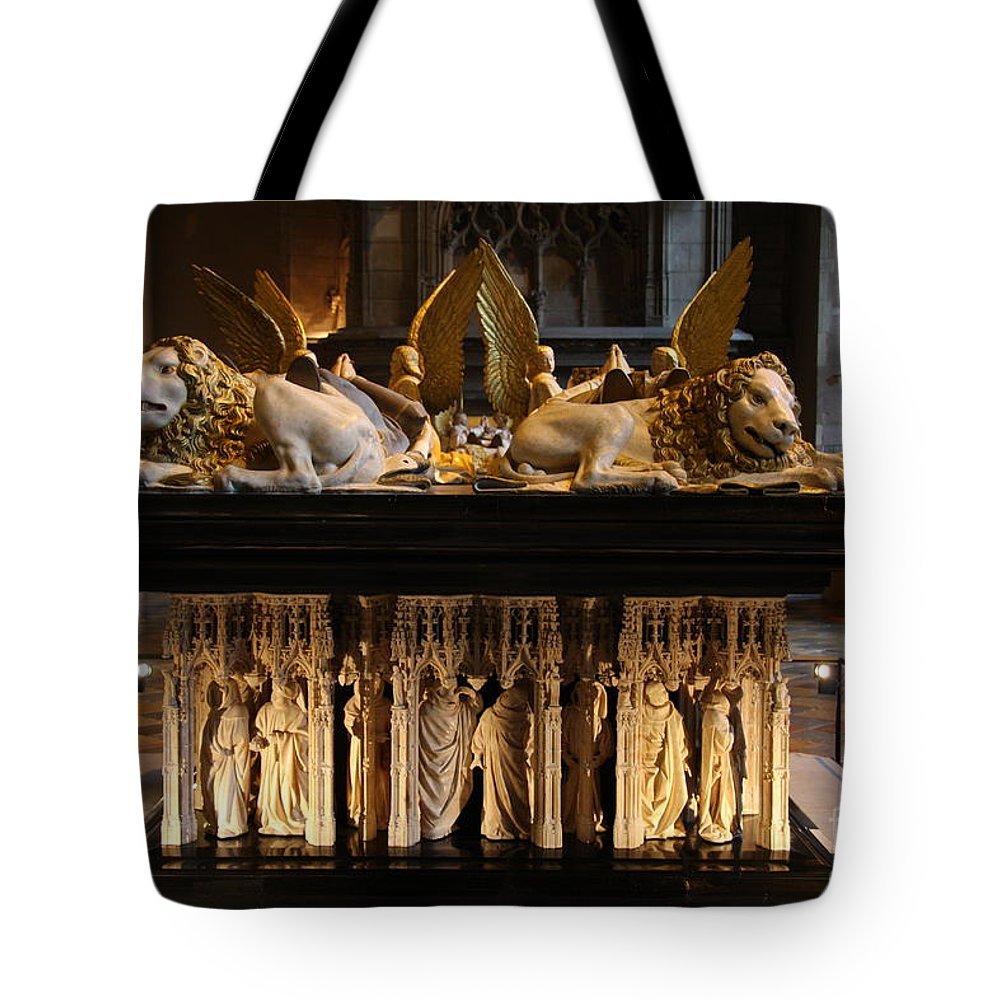Museum Tote Bag featuring the photograph Palace Dijon - Salle De Gardes by Christiane Schulze Art And Photography