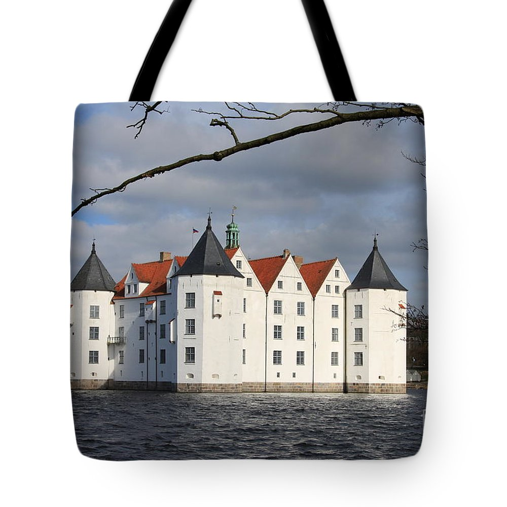 Palace Tote Bag featuring the photograph Palace Gluecksburg - Germany by Christiane Schulze Art And Photography