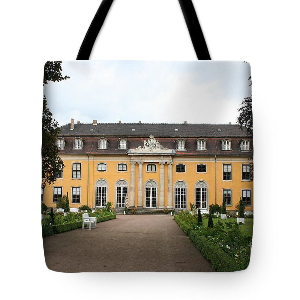 Palace Tote Bag featuring the photograph Palace Mosigkau - Germany by Christiane Schulze Art And Photography