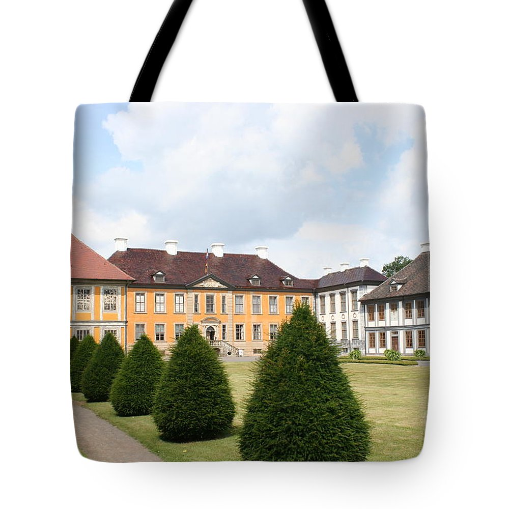 Palace Tote Bag featuring the photograph Palace Oranienbaum - Germany by Christiane Schulze Art And Photography