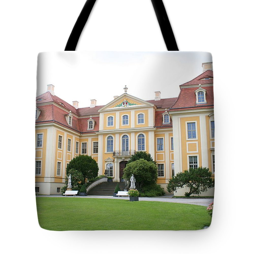 Palace Tote Bag featuring the photograph Palace Rammenau - Germany by Christiane Schulze Art And Photography