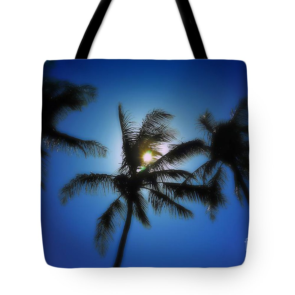 Palm Breeze Tote Bag featuring the photograph Palm Breeze by Patrick Witz
